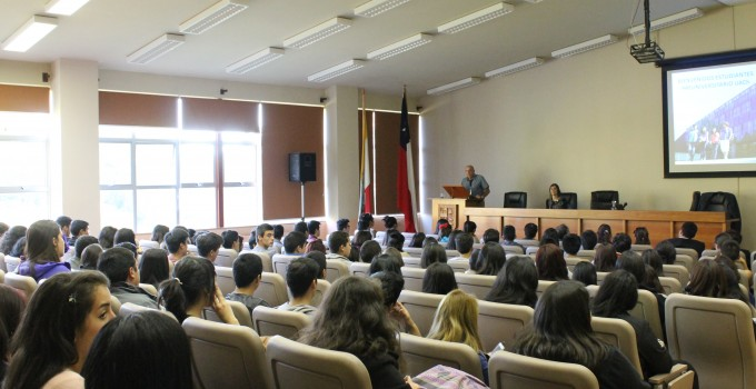 Bienvenida alumnos PREU UACh 2016.